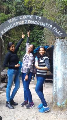 Kanchenjunga Falls at Pellling, Sikkim
