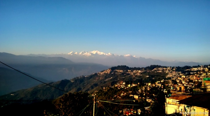 Darjeeling, where the clock stood still