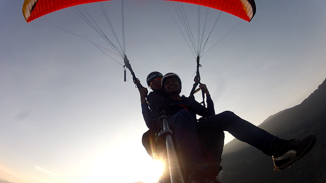 Paragliding – A bird's eye view of the scenic valleys