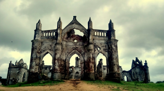 Submerged, Monsoon Beauty! Shettihalli Church