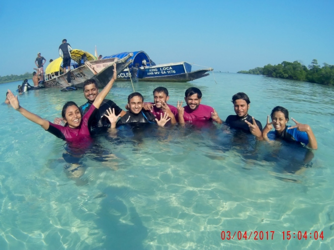 First try at Scuba – Dive into the Andaman Reef